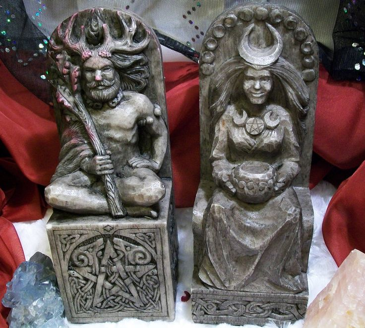 lord and lady of wicca